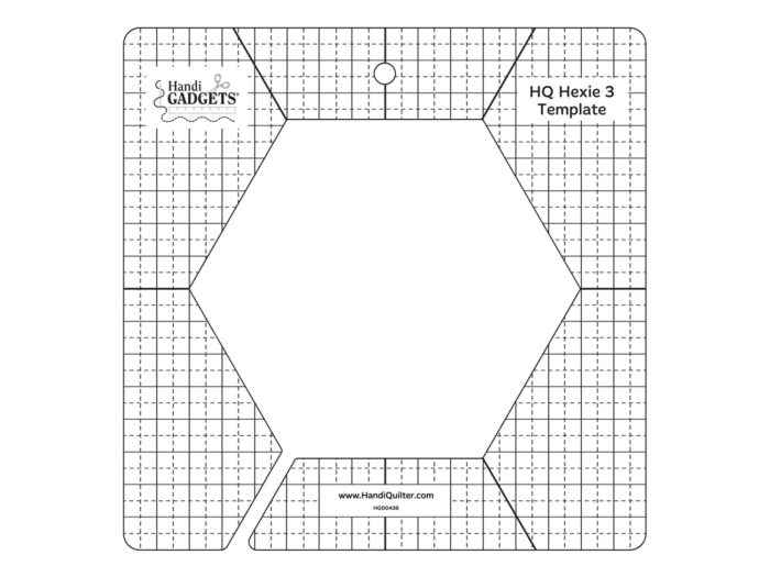HQ - 3-inch Hex Template