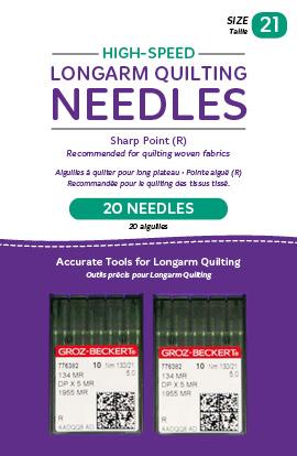 Handi Quilter High-Speed Longarm Needles Sz 21, 20pk