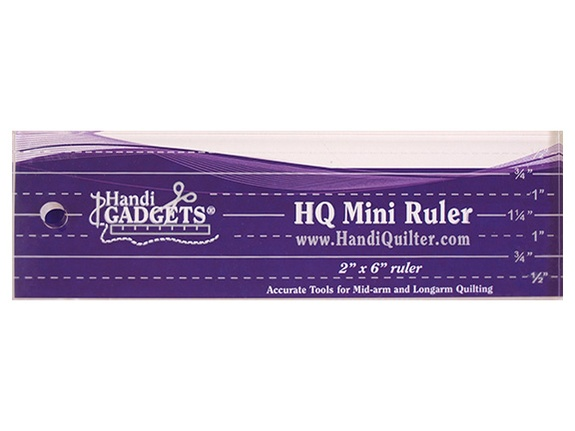 HQ - Ruler - Mini 2 Inch x 6 Inch