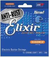 Elixir Electric Nano Nickel 12-String Light 10-46