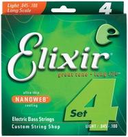 Elixir Nano Bass 45-100 LT