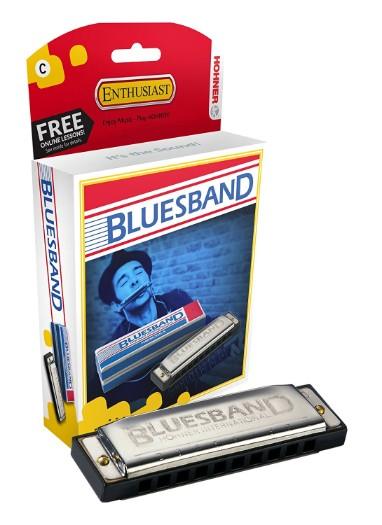 Hohner Blue Azule Harmonica Key Of C