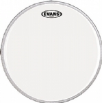 Evans Clear 300 Snare Side Drum Head, 14 Inch Hazy