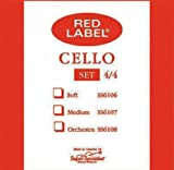 Red Label 4/4 Cello String Set