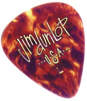 Dunlop Celluloid Classic Shell Picks Thin (12)