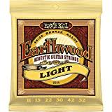 Ernie Ball Earthwood Acoustic Strings Light 80/20 Bronze 11-52 P02004