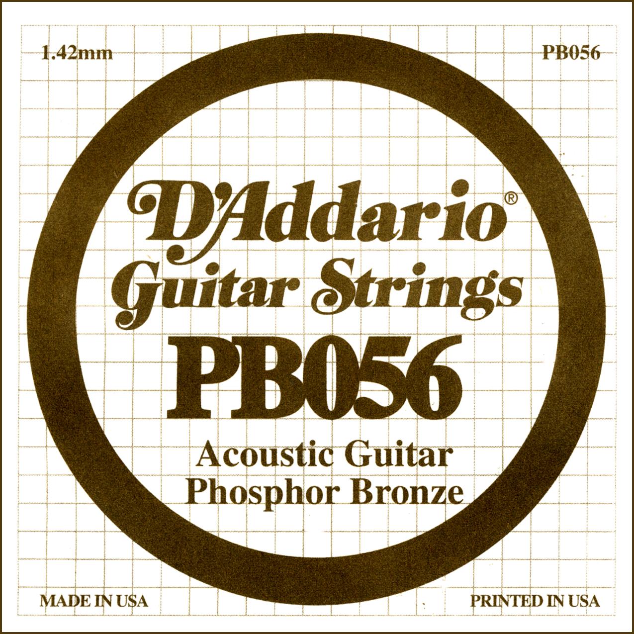 D'Addario Single Strings PBO56