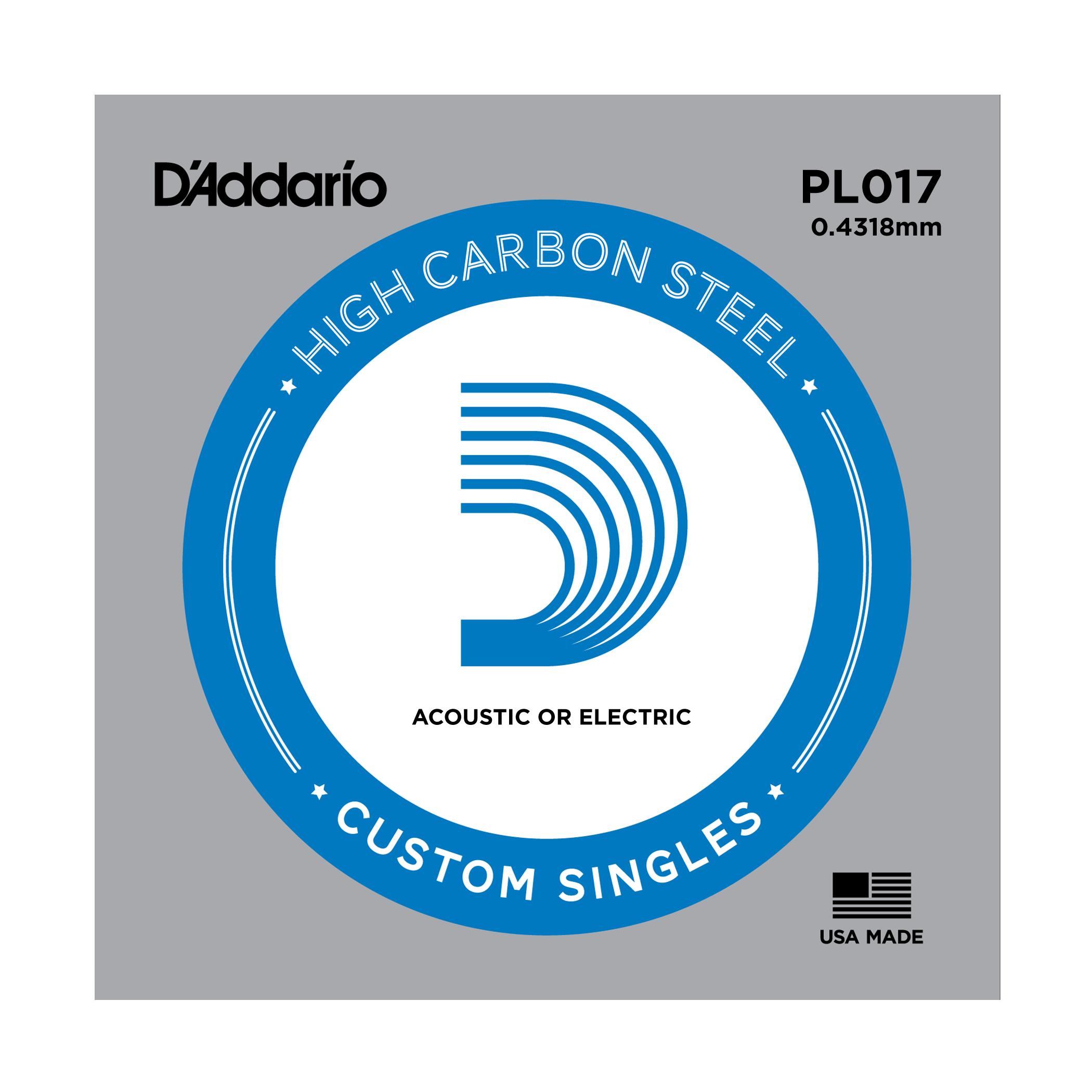 D'Addario Single Strings PLO17