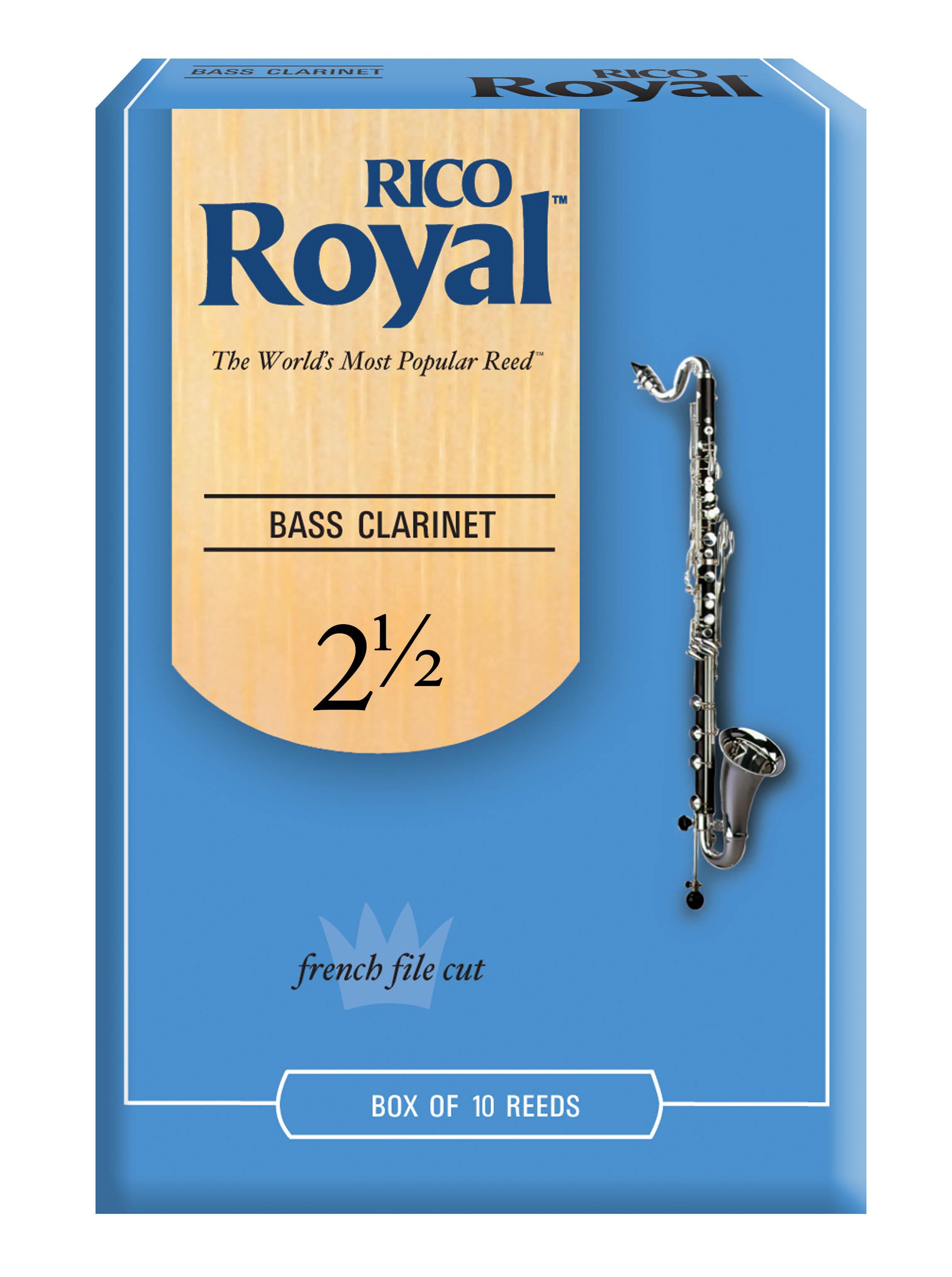 RICO ROYAL 2.5 BASS CLAR RDS10P