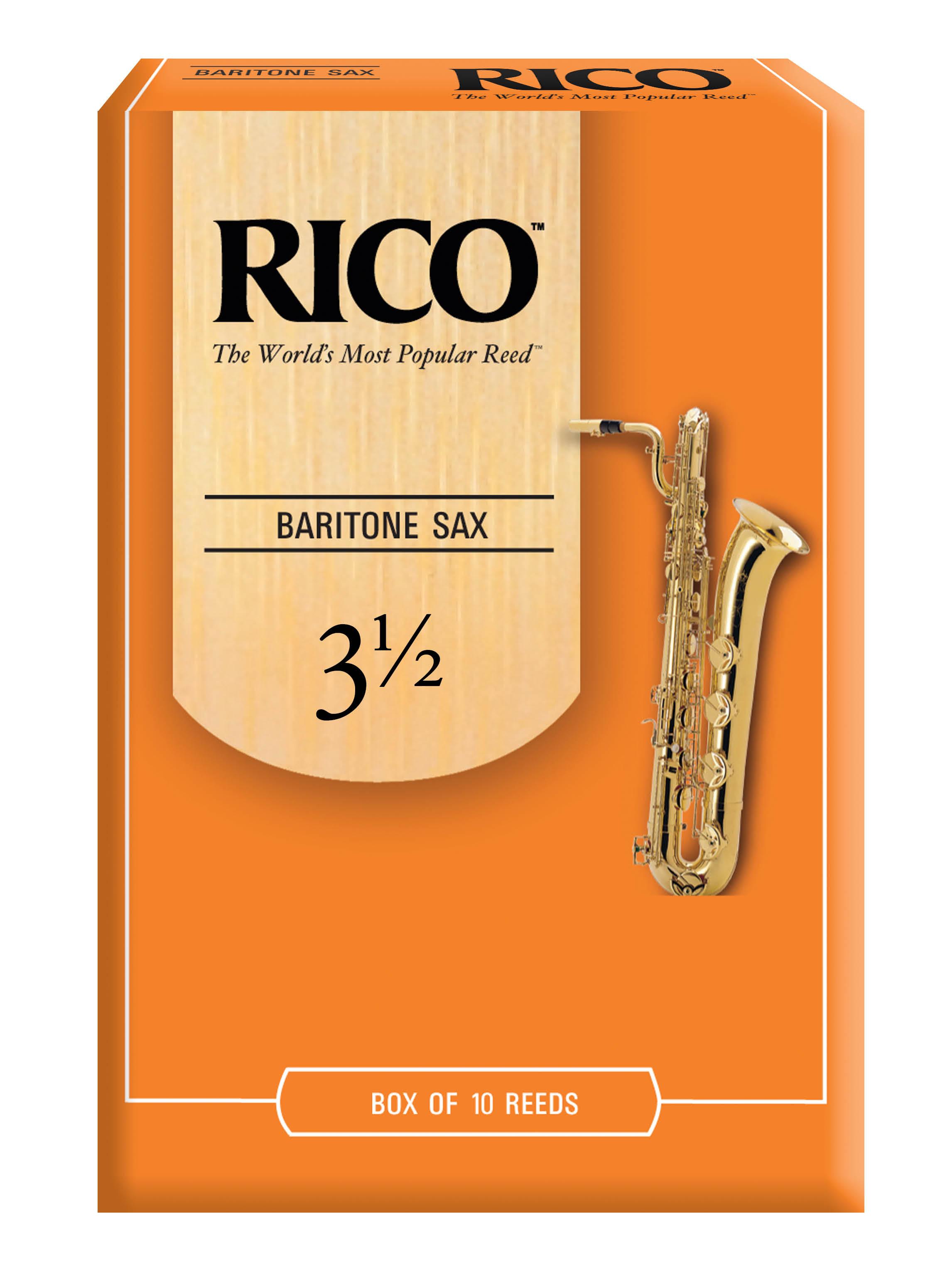 Rico Baritone Sax Reeds, Strength 3.5
