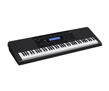Casio WK-245 76-Key Touch Sensitive Portable Keyboard