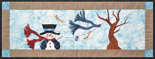 Snowy Blowy Stitch By Number Project Pack