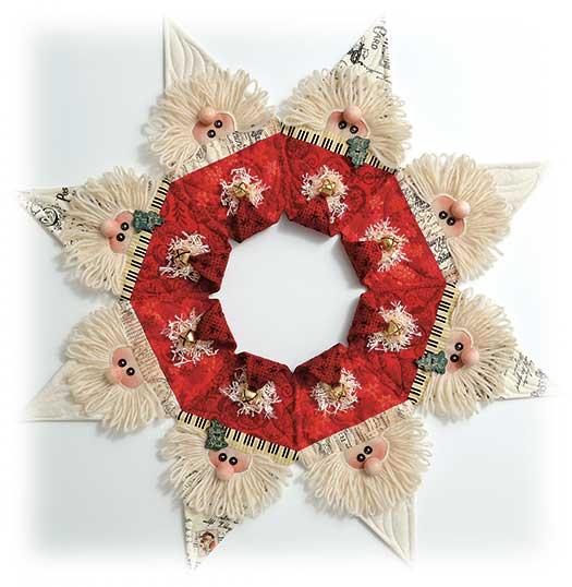 Jingle Bell Wreath Pattern