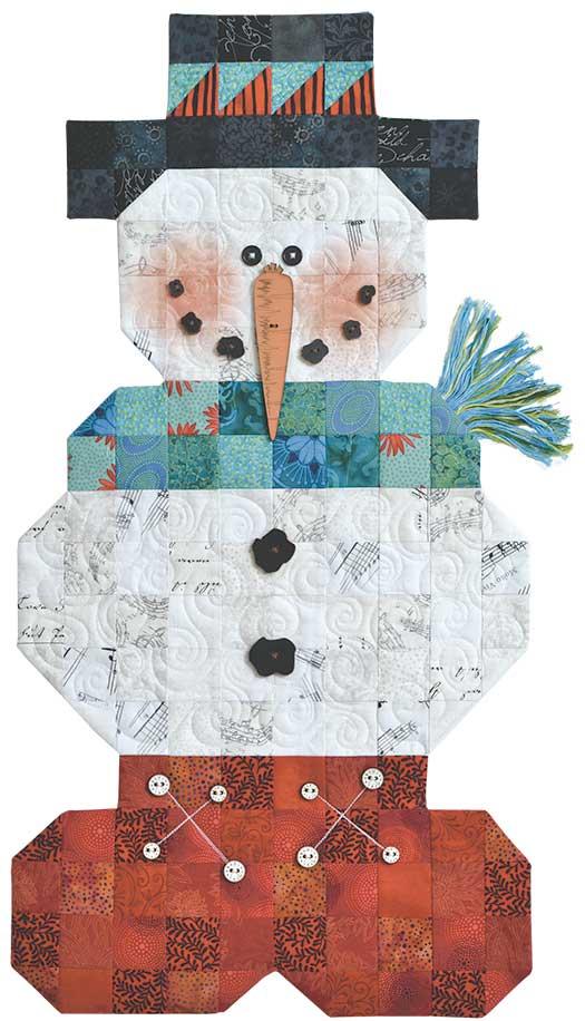 HH Roly Poly Snowman Pattern Pak Plus