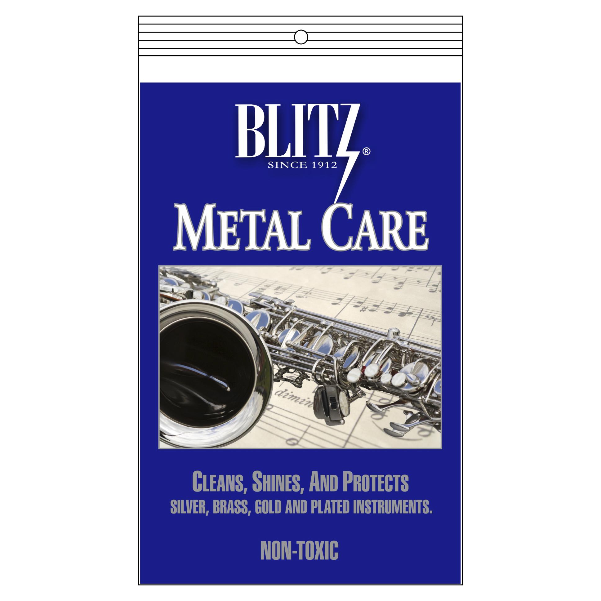 Blitz Gloss Care Non-Lacquered Metal Polishing BL303