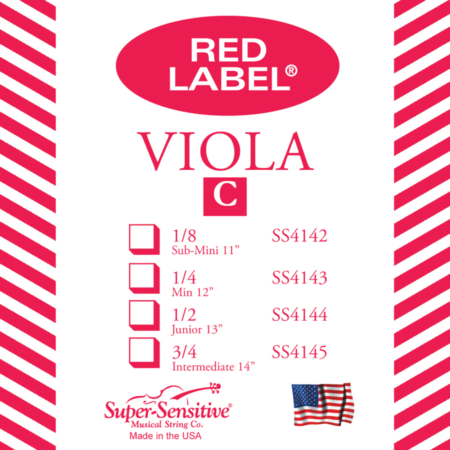 Red Label Single Viola C 14