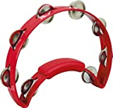 RhythmTech Solo Model Tambourine Red