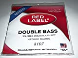 Super Sensitive Regular Tone 3/4 Bass String Set
