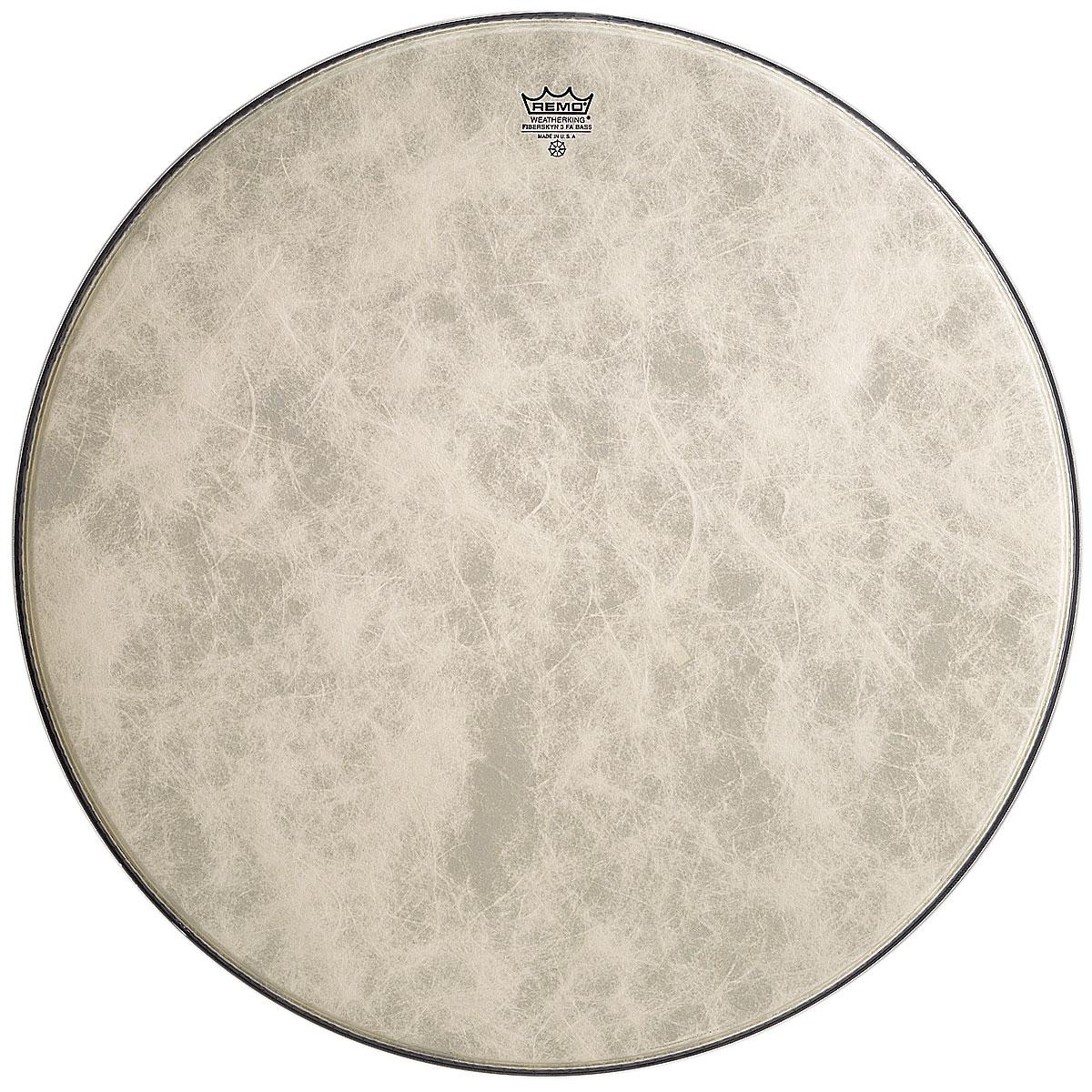 Remo FA1524 bass drum fiberskyn