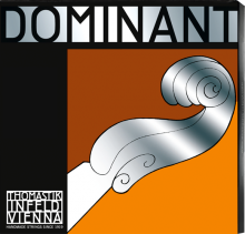 Dominant 4/4 Set Violin String Steel E Med Tension Synth Core