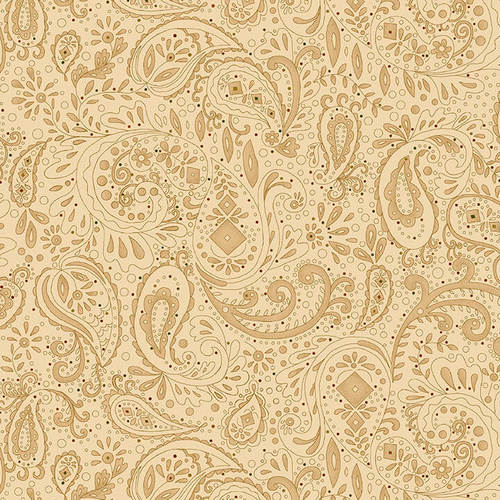 Spiced 108 - Paisley - Beige