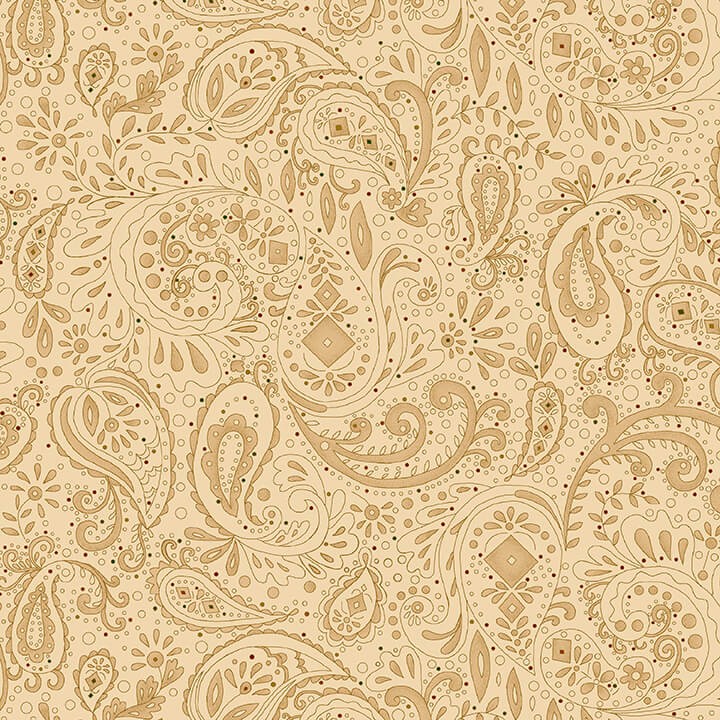Spiced 108 Quilt Back - 0891-44