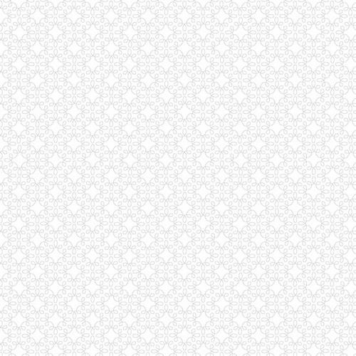 Melody Basics White Geometric
