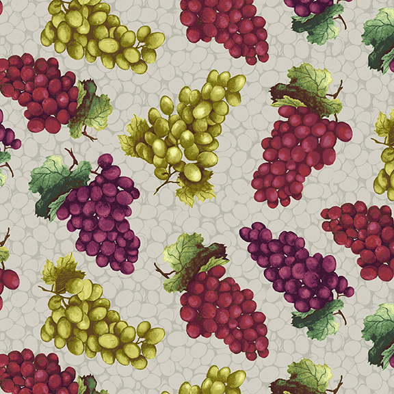 1355-9 TOSSED GRAPES