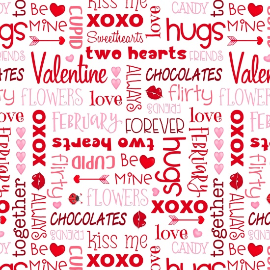 Love Struck - Words - 1363-28