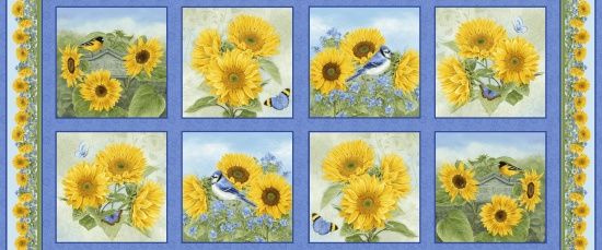 My Sunflower Garden - Panel