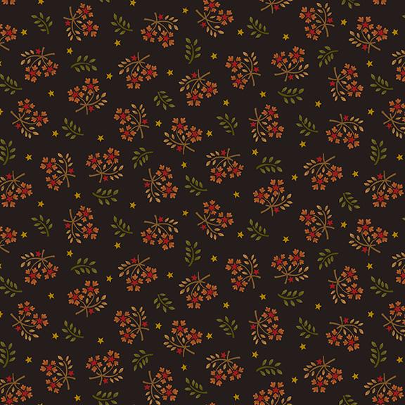Wit & Wisdom Floral Sprays - Black 1419-99