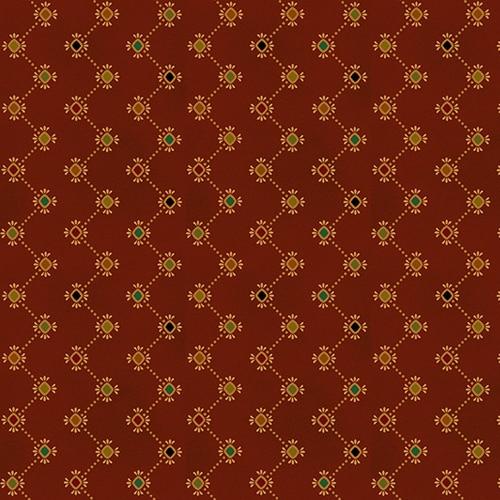 Wit & Wisdom Zigzag Strip - Red 1421-88