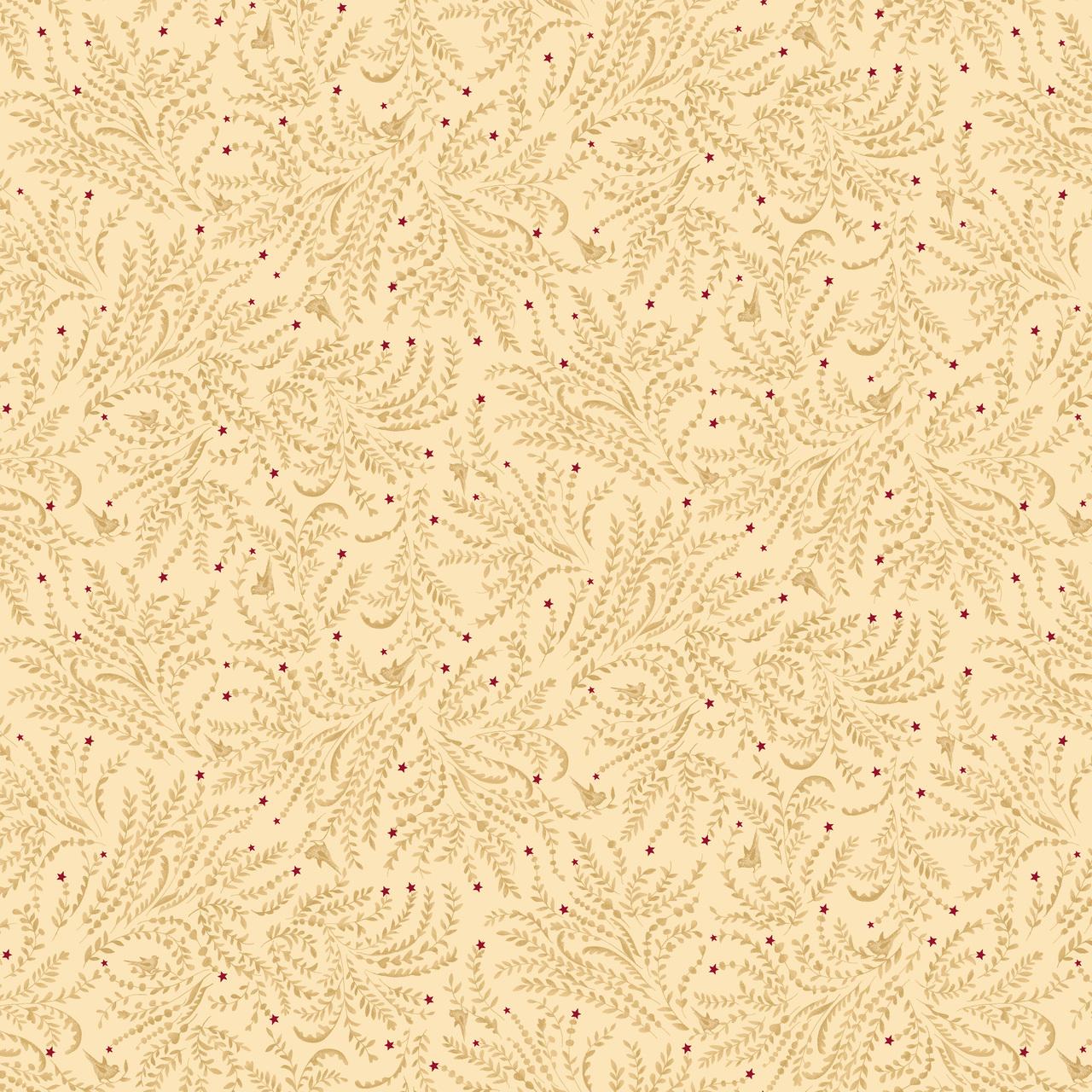 Liberty Star Cream Stars and Toile 1586-44