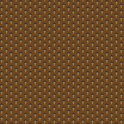 Leafy Rings - Chestnut