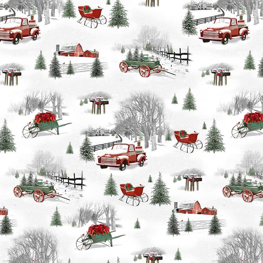 Holiday Homestead 1614-90 Gray