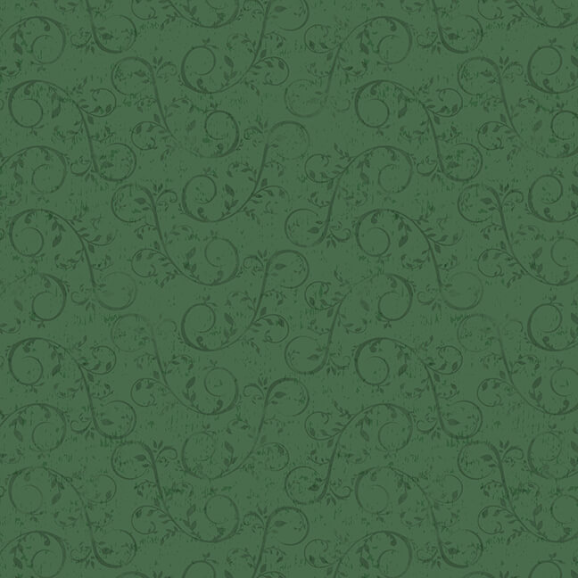 Holiday Homestead Green Swirl