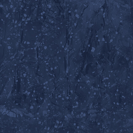 HG- Winter Cottage Blue Tonal Texture