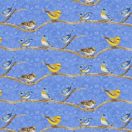 Hydrangea Birdsong Birds