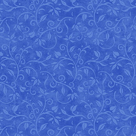 Hydrangea Birdsong Vine Texture Blue