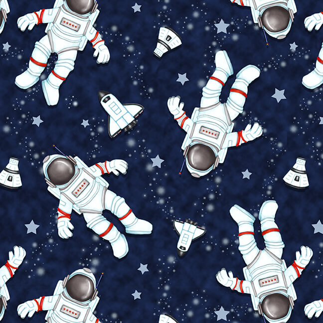 Space Walk - Astronauts Navy