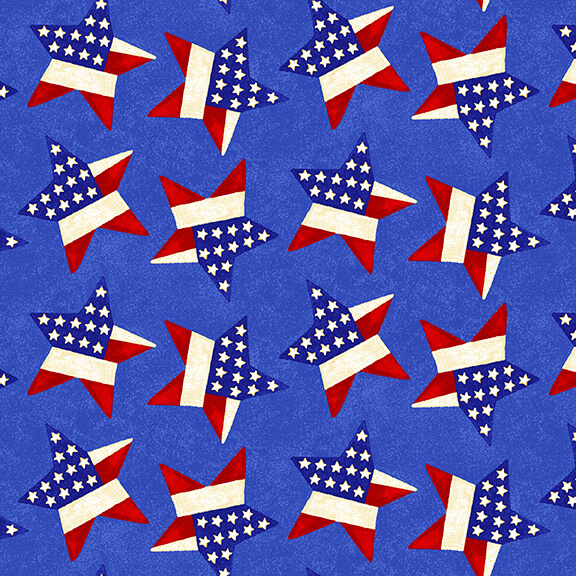 Land of the Free Patriotic 1831-78 Blue