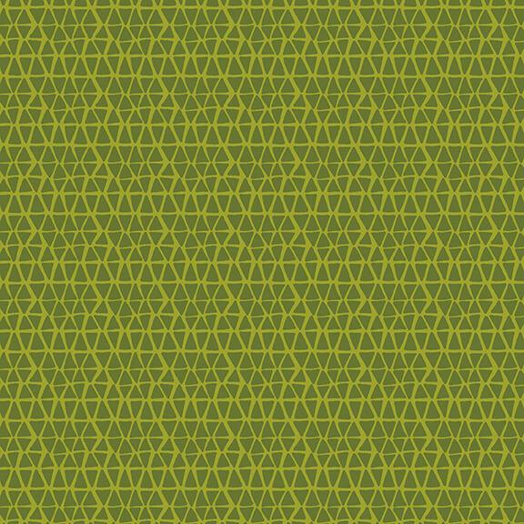 1855-66 Green Scale Print  Whirleygig Magic