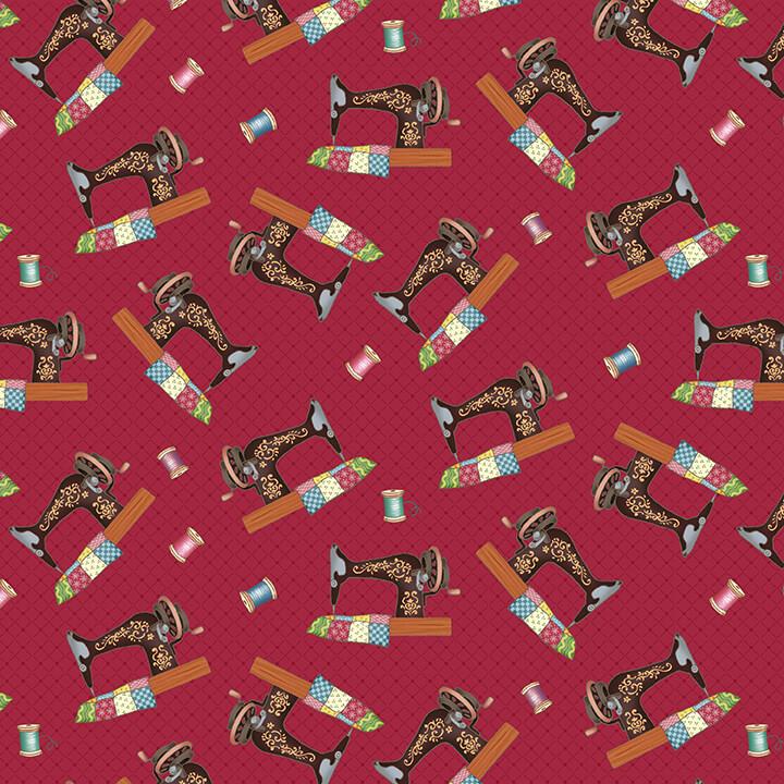 Sew Lets Stitch - Red