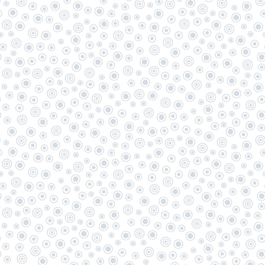 HG-1883-01W White Quilters Flour Dotted Dots