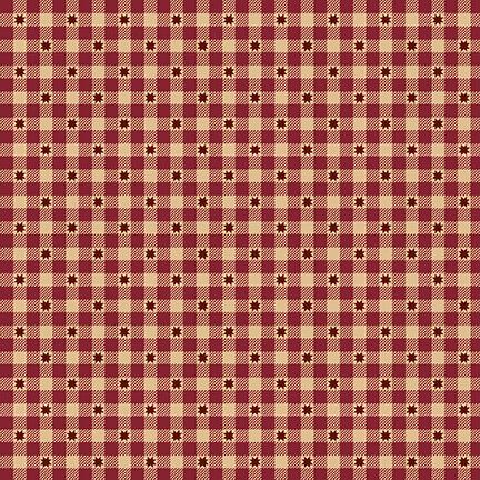 Idaho Prairie Star - Red Star Check