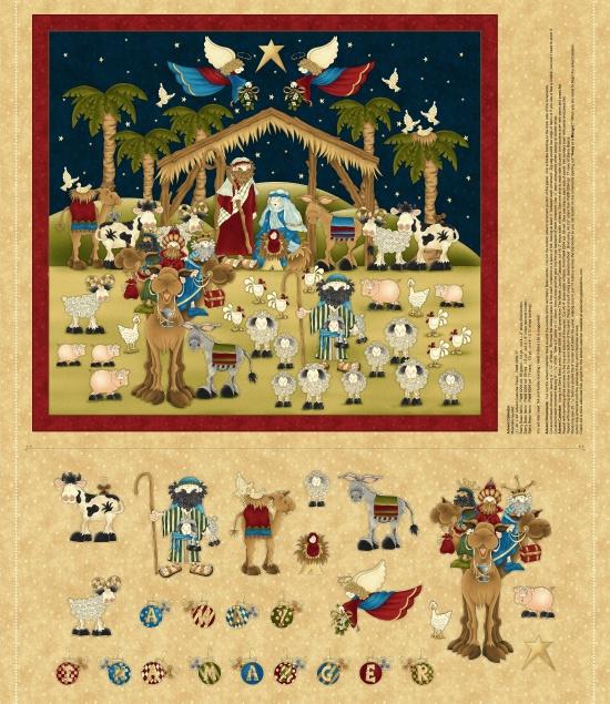 Away in a Manger Advent Calendar - 2000P-44