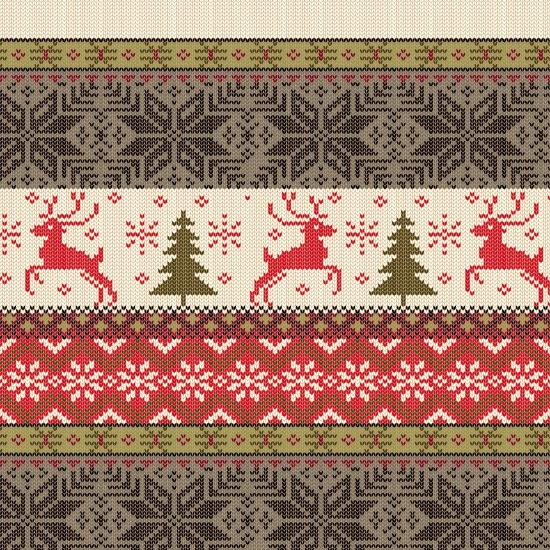 BELIEVE CHRISTMAS STRIPE 208344 Henry Glass