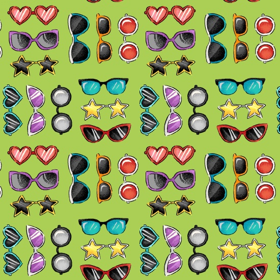 Sunglasses Road Trip by Bonnie Krebs
