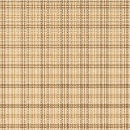 Cream and Tan Plaid 2157Y-44