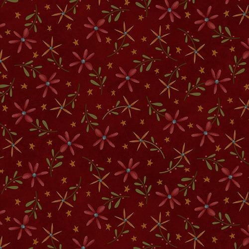 FOLKART 2 RED FLANNEL F2181 88